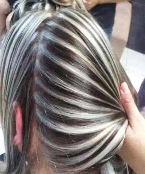 Love the beautiful colour for hairs in 2018
