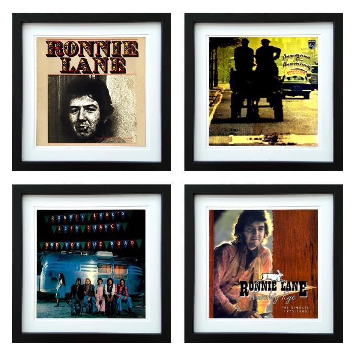 Ronnie Lane | Framed Album Art Set of 4 Images | ArtRockStore