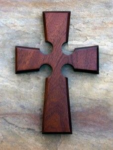 Irish Cross Red Mahogany