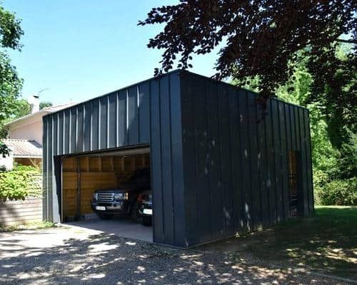 How To Build Your Own Shipping Container Garage Modern
