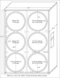 Bildergebnis für ampeg 8x10 cab plan   Speaker Cabs & Wooden ...