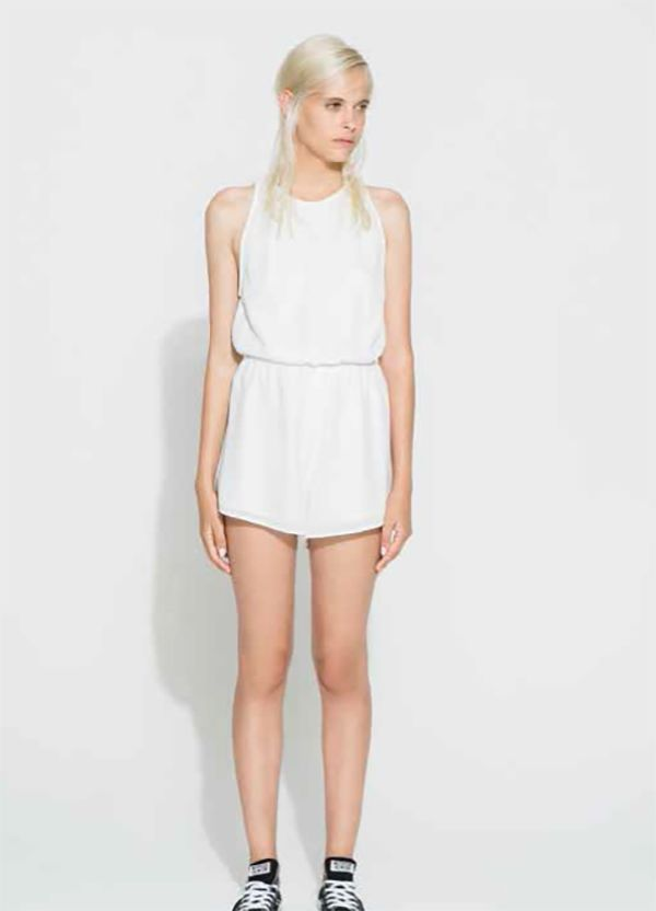 THE FIFTH - Across The Sea Playsuit - Ivory