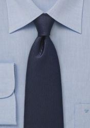 Krawatte navyblau abwärtsgerichtet streifengemustert günstig kaufen