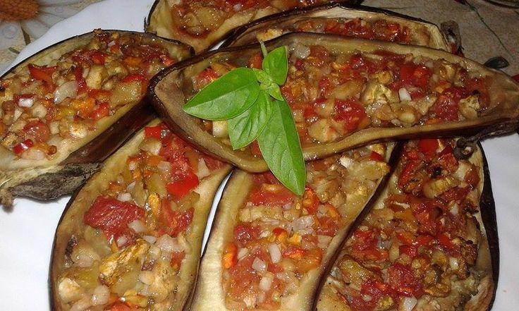 Vinete umplute la cuptor – vegancugust