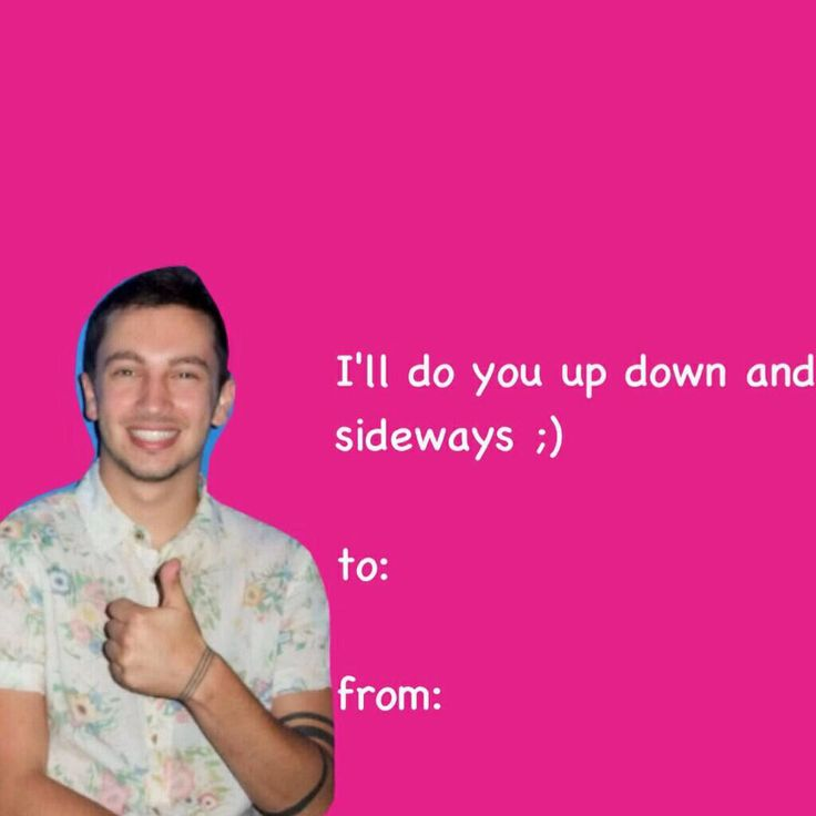valentine band cards