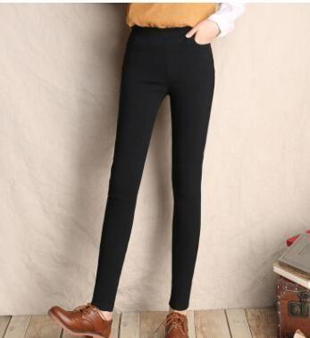 Skinny Women Leggings High Stretch Pencil Pants Plus Size 5Xl 6Xl Blue Black Femme Pantalon Elastic Waist Trousers 2019