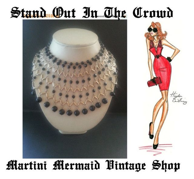 """""""Stand Out From The Crowd..."""" by martinimermaid ❤ liked on Polyvore featuring vintage"""