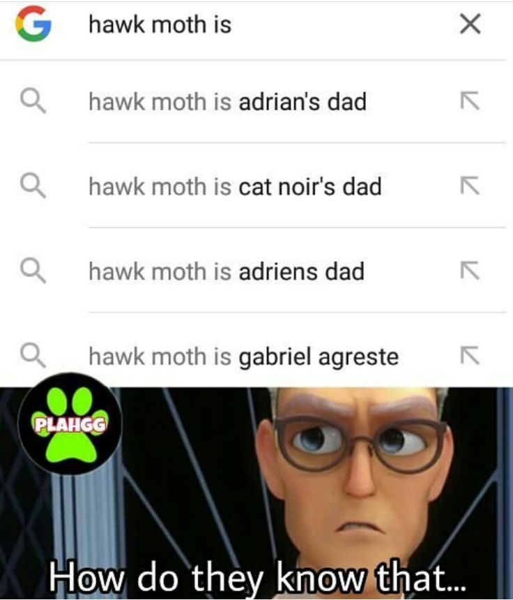 Bcuz you are not good at doing anything and neither is hawkmoth