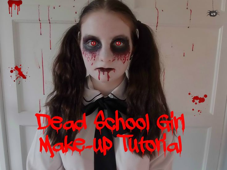 Dead School Girl Make-up Tutorial | Halloween