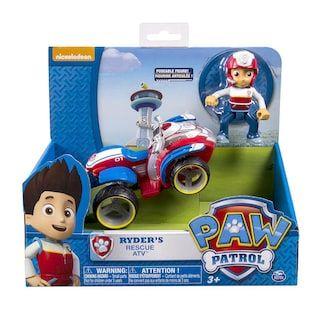 NICLEODON RESCUE ATV RYDER PAW PATROL QUAD Spielzeug---DE