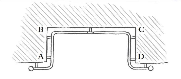 Iron Curtain Poles for Bay Windows, Iron Curtain Pole for Bay Window, Iron Bay Windows for Curtain Poles,