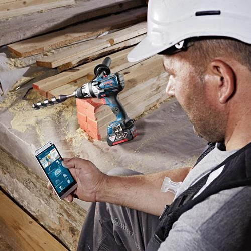 This is the *BRAND NEW* Bosch GSB 18V-85 C 18v combi drill with CONNECTION READY technology. This RobustSeries brushless combi has all of the very latest features to give you the best power and performance.