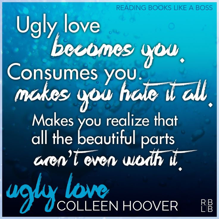 Book Review - Ugly Love by Colleen Hoover