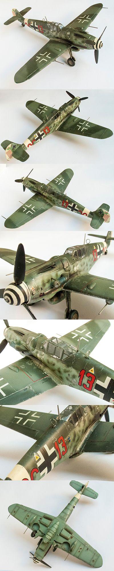 Messerschitt Bf 109, 1/48 scale by Korhan AKBAYTOGAN