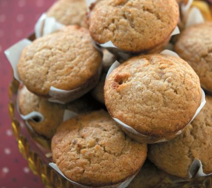 Banana muffins- on my website! Delicious. One that the whole family will enjoy.