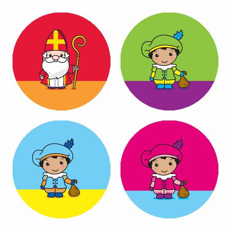 "Buttons ""Sint en Piet"" #sinterklaas"