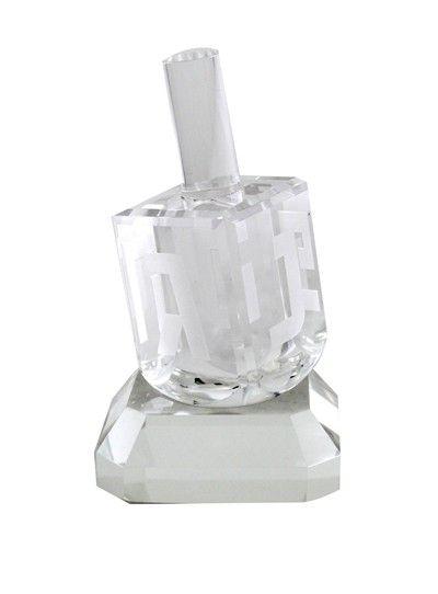 Kristal Dreidel 8cm R9088