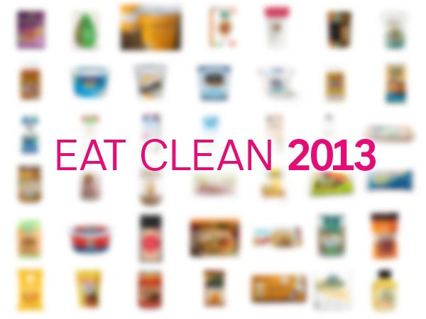 100 cleanest packaged foods for 2013. If you have to buy packaged, buy these.