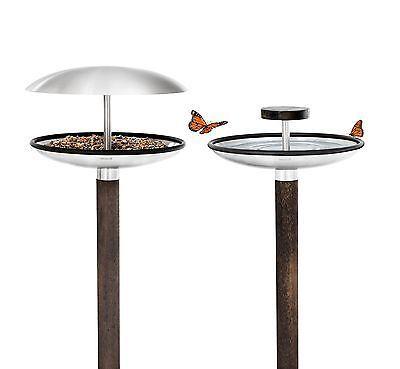 Blomus Fuera Minimalist Contemporary Bird Bath / Feeder Table   eBay