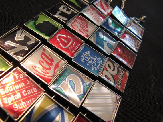 Soda Can Bracelet Monster  Coke  Sprite  Dr. by MischiefOfMice, $30.00