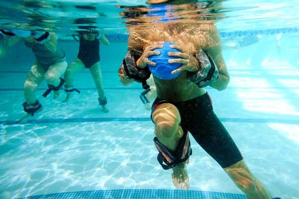 ... about water exercise on Pinterest | Cardio, Burn calories and Get abs