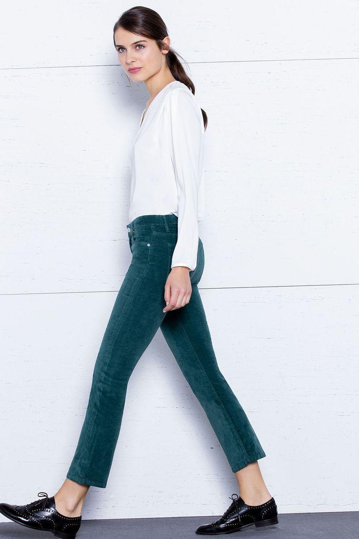 Pantalón piel de melocotón | Ofertas especiales mujer | Fifty Factory
