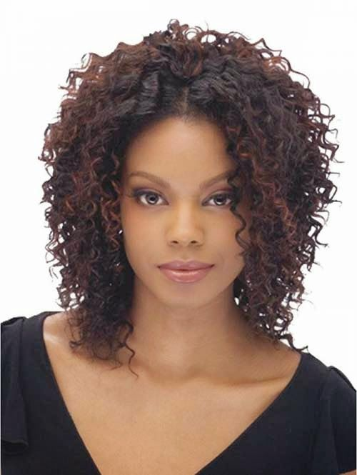 25 best ideas about Short curly weave hairstyles on Pinterest