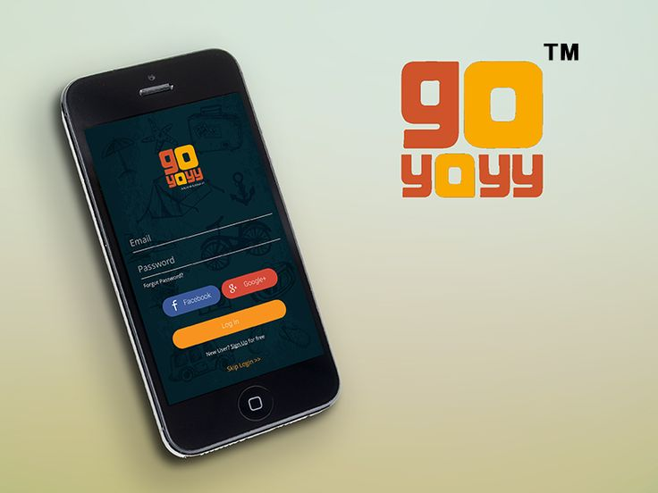 Work in Progress,  login screens of Goyayy app.  Stay Tuned for more !!  If you like our work,visit our website www.maxtroninnovations.com