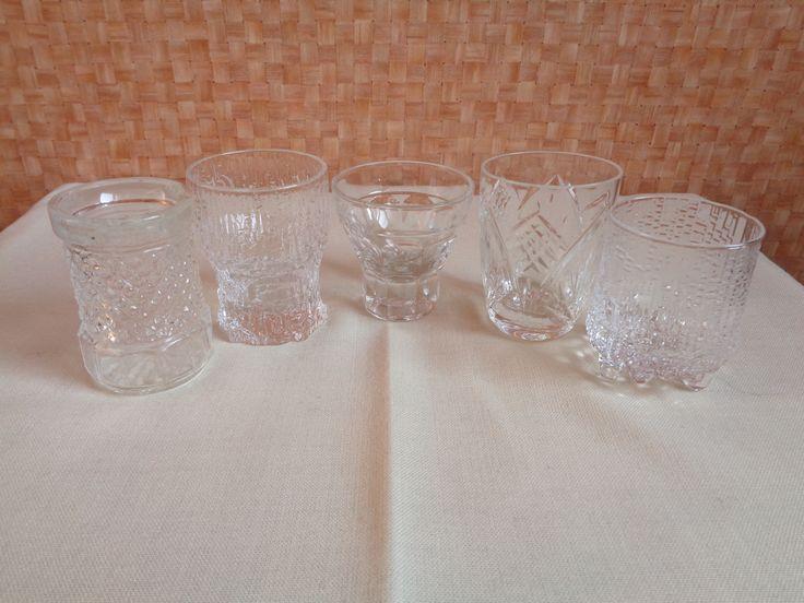Pálinkás poharak - saját gyűjtemény