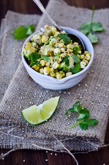 corn and avocado salsa... yum!Food Matter, Cooking Recipe, Avocado Salad, Avocado Salsa, Yummy Food, Asian Corn, Food Recipe, Cooking Healthy, Drinks Recipe