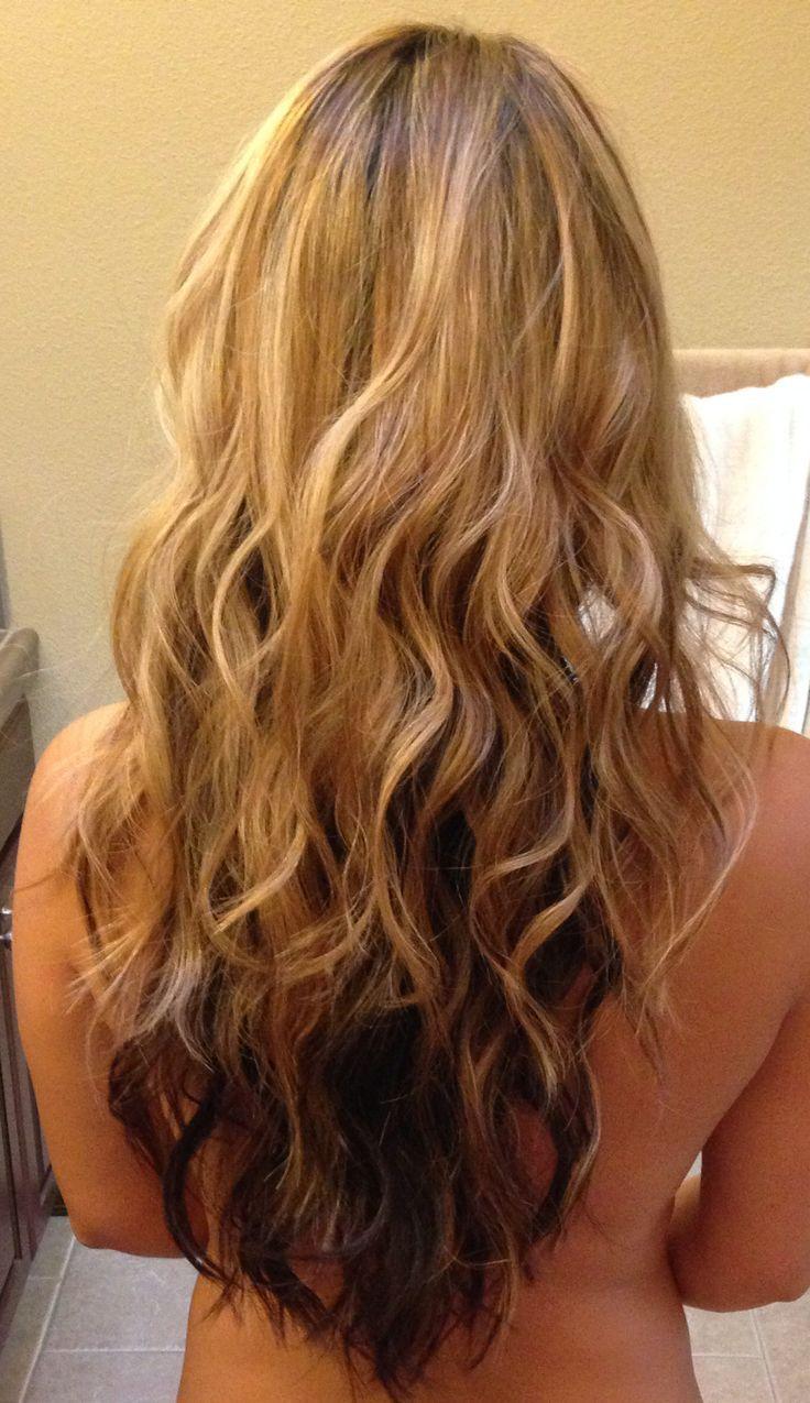 25+ beautiful brown underneath blonde on top ideas on pinterest