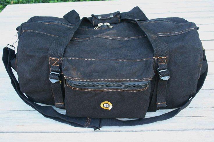 G7utility.com canvas & leather duffel luggage