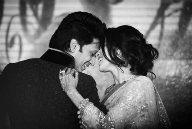 riteish deshmukh and genelia d'souza married