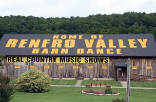 """Renfro Valley Barn Dance - Kentucky  (Remember, the don't know how to do """"the dougie"""".) lol  <---music reference"""