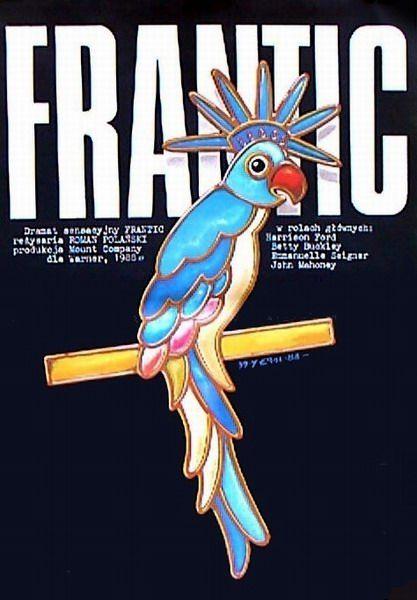 Frantic Frantic Erol Jakub Polish Poster