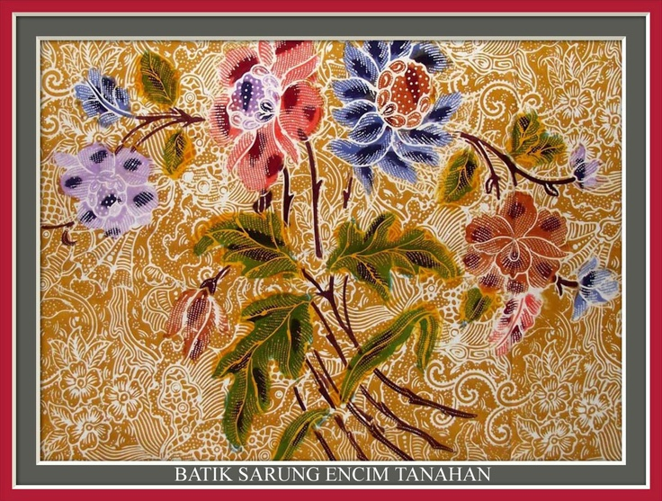Batik Sarung Encim Tanahan