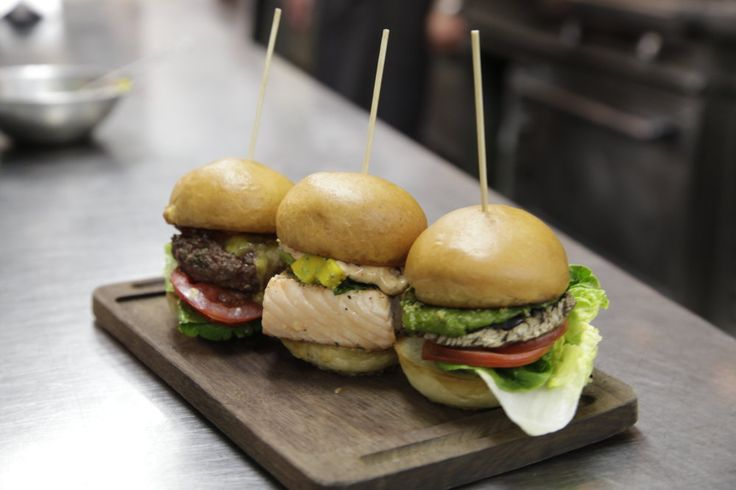 Salmon sliders    Makes 4    Ingredients  4 salmon fillets, approx.100g each per portion, depending on the size of  your buns  2tsp chopped fresh coriander leaves  2tbsp olive oil  Salt and pepper    Chipotle chilli and lime mayonnaise  150g mayonnaise  1 lime, zest and j
