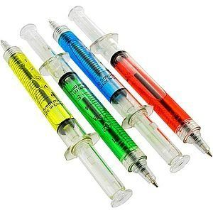 Syringe Ballpoint Pen - Want to freak out your co-workers? Amazon/Rhode Island Novelty