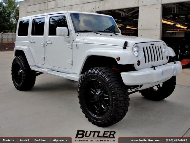 Jeep Wrangler 22 Inch Wheels Jeep Wrangler With 22in RBP 97R Wheels Jeeps Jeep Jeep
