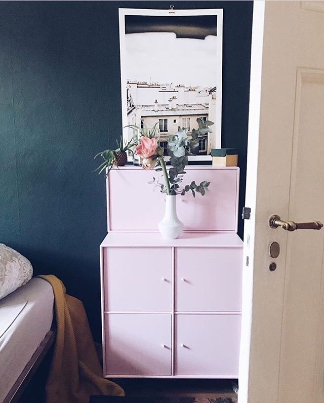 ADORN in the colour Candy Floss Repost by German blogger @ponysailor #bedroomdecor #homedetails #homestyling #pink #farbenfroh #danishdesign