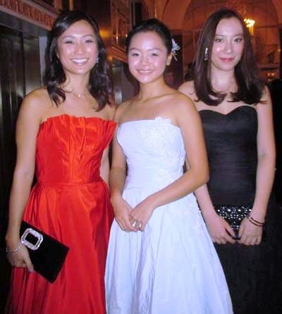 Jasmine Lee, Sophie Tang and Olia Lau.  Photo by:  Joyce Brooks/Blacktiemagazine.com  FORTY-SIX WOMEN MADE THEIR BOWS AT THE 60th INTERNATIONAL DEBUTANTE BALL  Monday, December 29th, 2014 - See more at: http://blacktiemagazine.com/society_2014_december/International_Debutante_Ball_2014.htm
