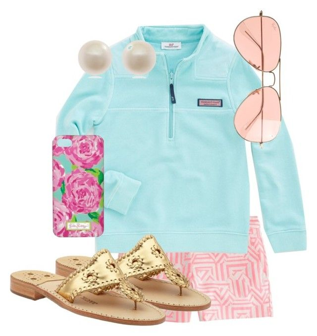 Untitled #46 by keepcalm-beaprepster on Polyvore featuring J.Crew, Links of London, Vineyard Vines and Jack Rogers