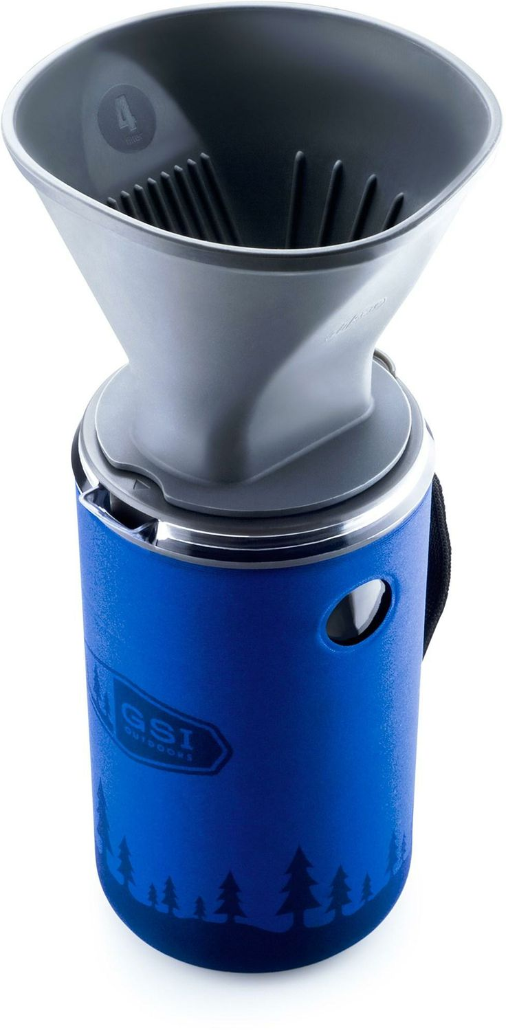 Enjoy the flavor of freshly brewed drip coffee from the comfort of your campsite with the GSI Outdoors Java Drip coffee maker. #REIGifts