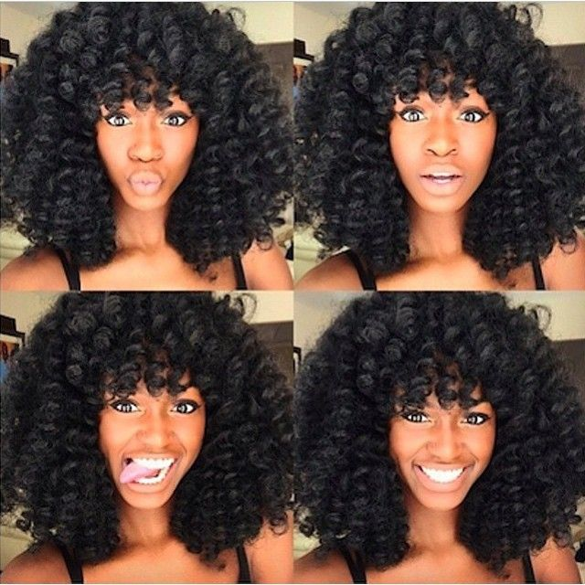 Guys, have you received your life yet, We are blown away by how much beauty is in this photo! Those curls are laid to perfection! We at IWMHLT cater to all types, whether it is natural, relaxed, weaved or braided, we do not discriminate, we just want to show you beautiful styles that we can all achieve even if you've got to add a lil somethin' somethin' --------------------------------------------- #GetTheLook You can achieve this look on your natural hair using flexi rods and some flaxseed…