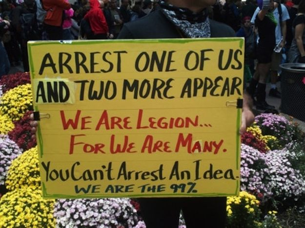 The 50 Best Signs From #OccupyWallStreet