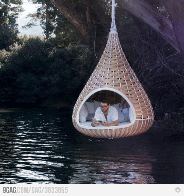 Just one.: Lounges Chairs, Dreams Home, Hanging Beds, Hershey'S Kisses, Do You, Lakes, Hershey Kiss, Backyard, Reading Spots