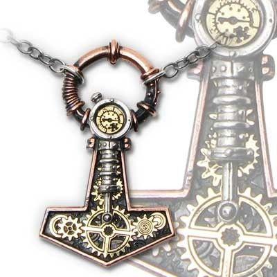 Steampunk nyaklánc, Thor kalapács