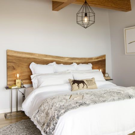 Todd Talbot's Master Bedroom in Lions Bay