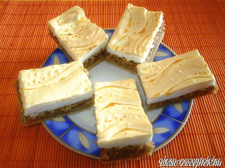 Hozzávalók: Tészta: 250 g liszt 125 g vaj vagy zsír fél kk sütőpor csipet só 1 db tojás sárgája 60 cukor 1-2 ek tejföl Töltelék: 1,5 kg alma hámozva,leresz