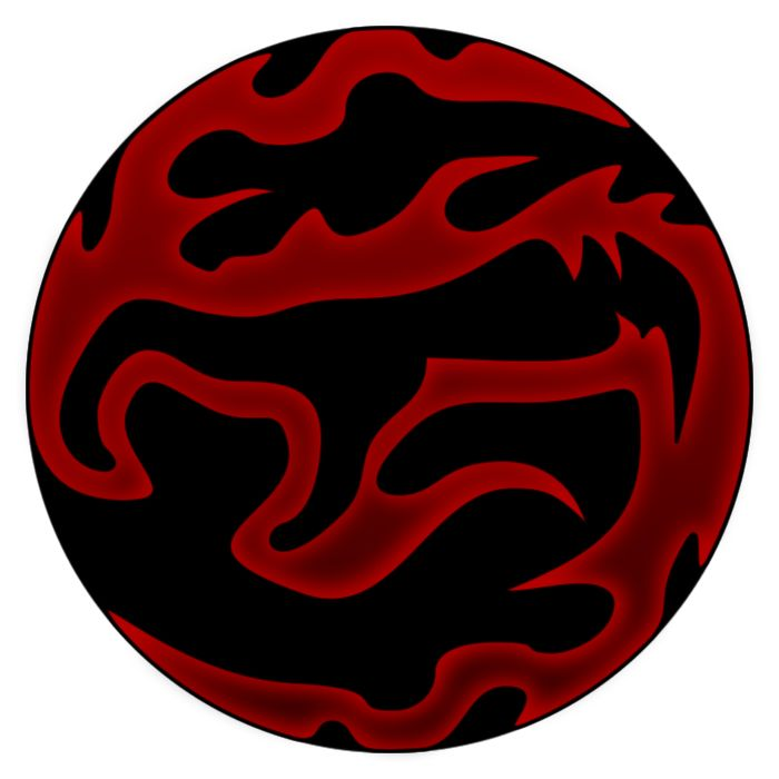 My version of the Fury dark gift symbol from Blood Omen 2: Legacy of Kain. Blood Omen 2: Legacy of Kain belongs to Crystal Dynamics.